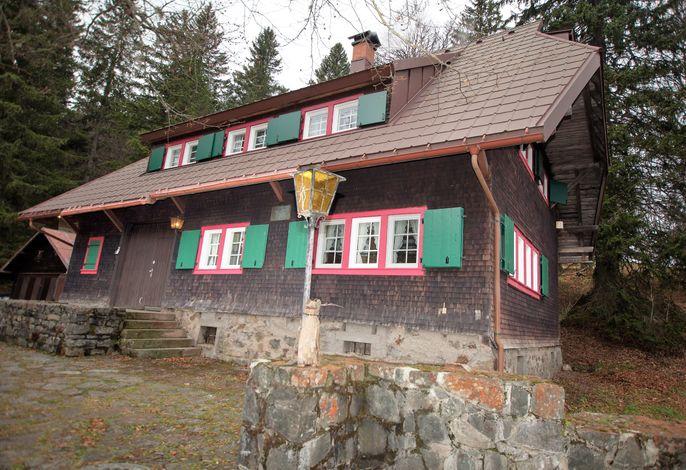 Zähringer Hütte Frontansicht