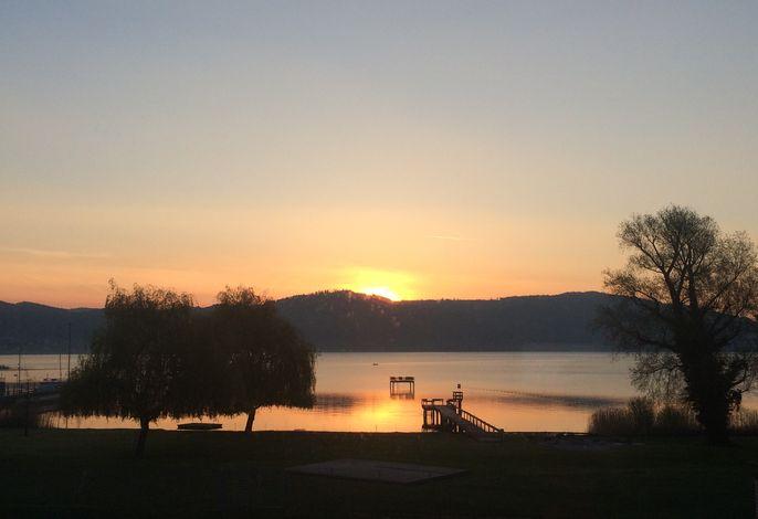 Aussicht Balkon, Sonnenaufgang