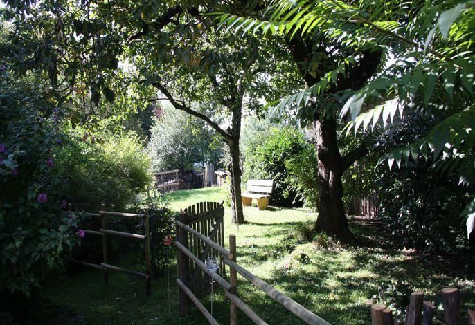 unser Garten für die Gäste