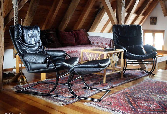 Sitzecke und 3.Bett
