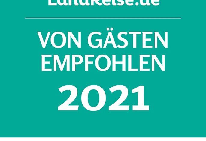 Auszeichnung zum Top Ferienhof 2021