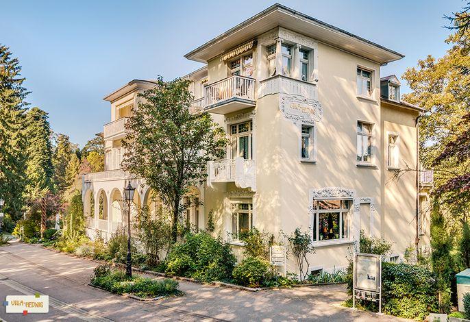 Blick auf Villa von der Römerstraße