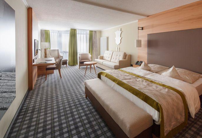 Hotel Saigerhöh -  Juniorsuite Panoramablick