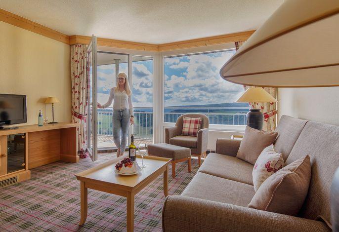 Hotel Saigerhöh - Suite (Aufenthaltsbereich)
