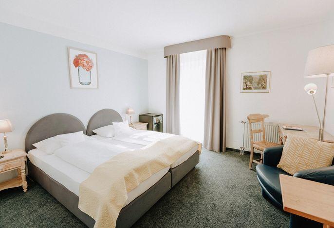 Doppelzimmer Komfort / Hof