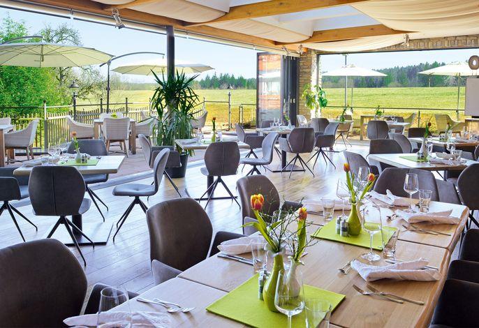 Wintergarten - Restaurant mit Ausblick