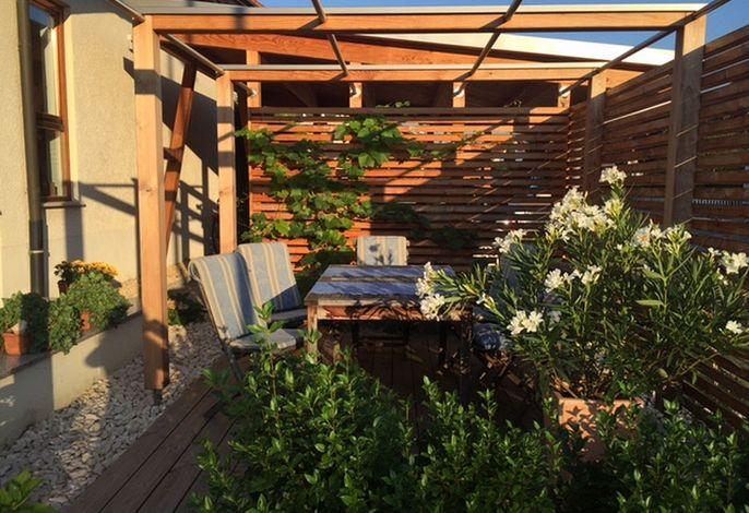 Terrasse zum gemütlich Draußensitzen