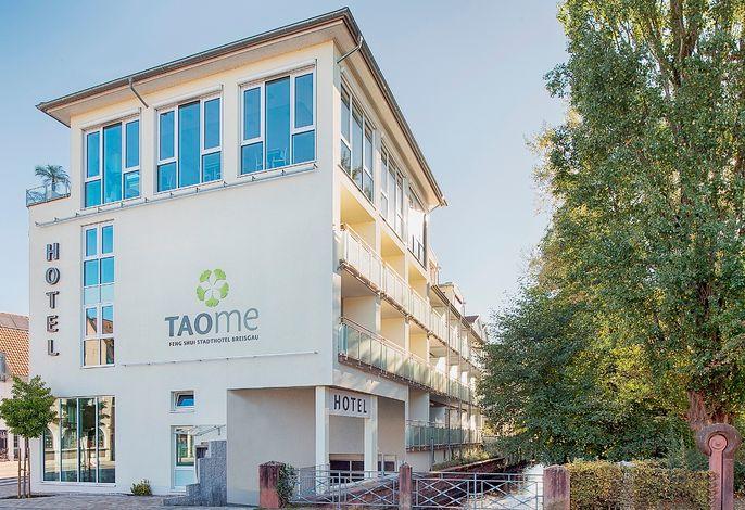 TAOme Hotel Außenansicht seitlich