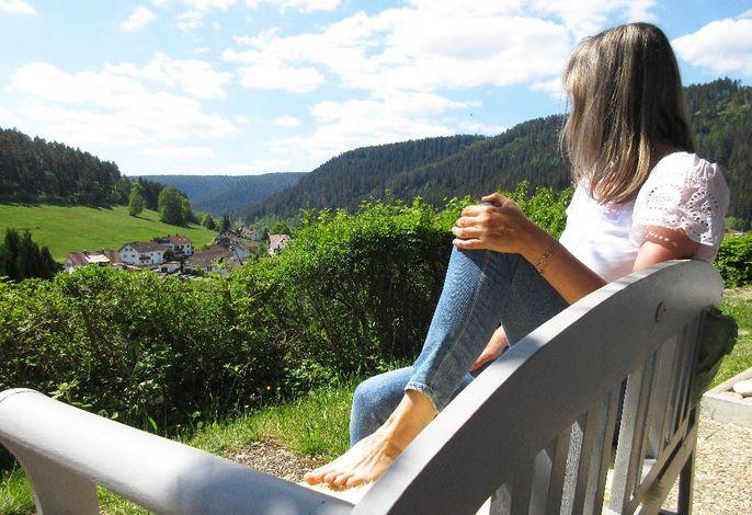Ausblick: Schwarzwald pur