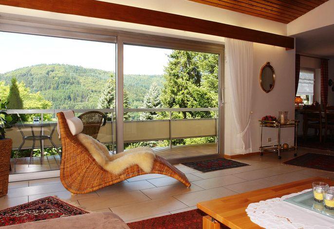 Schwarzwaldsuite (Whg. 1) - Wohnzimmer