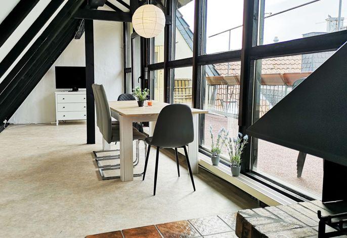 Zentrales Apartment mit Dachterrasse, (Goch), LHS 07589