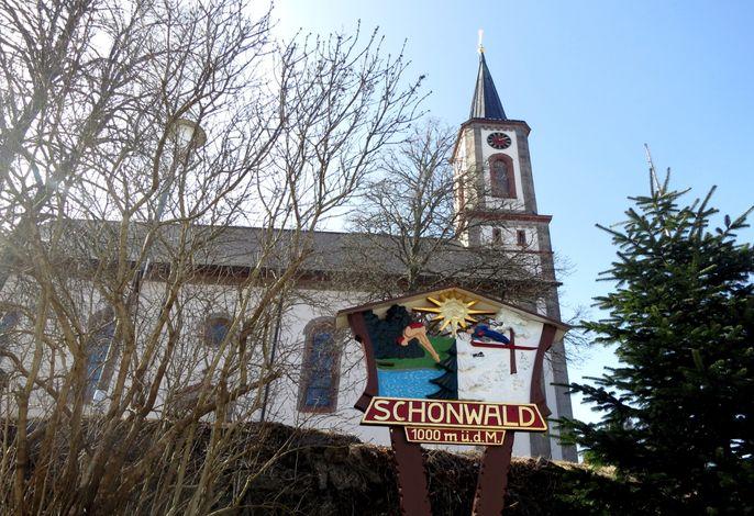 Schönwald, Ruhe + Sport im Winter und Sommer