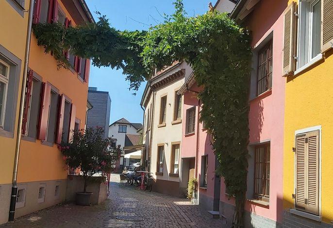 Gasse in Waldkirch