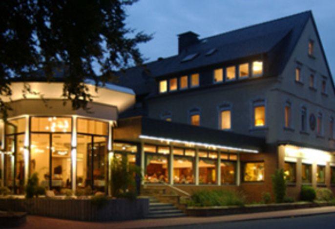 Hotel in den Abendstunden
