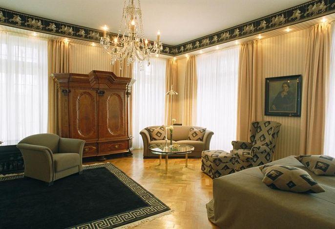 Luxussuite - Wohn- und Schlafbereich