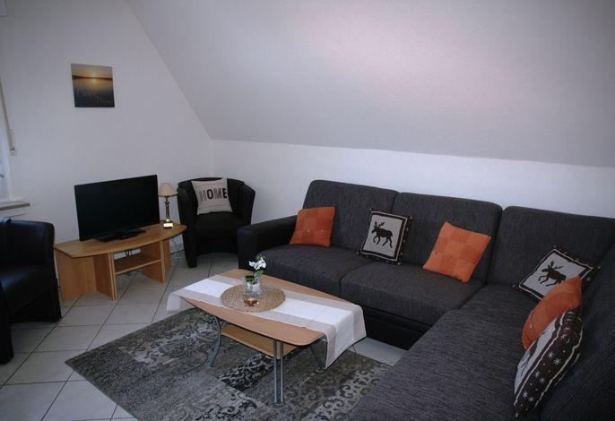 Wohnraum FeWo Pieper