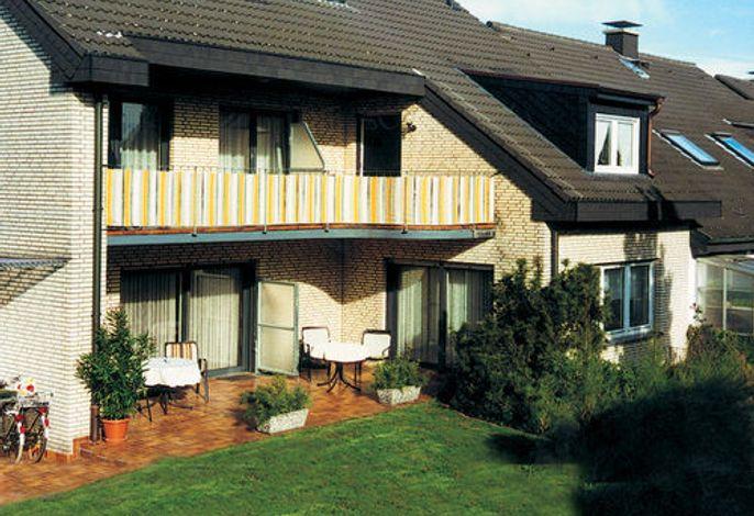 Außenansicht Gartenseite Haus Wegener