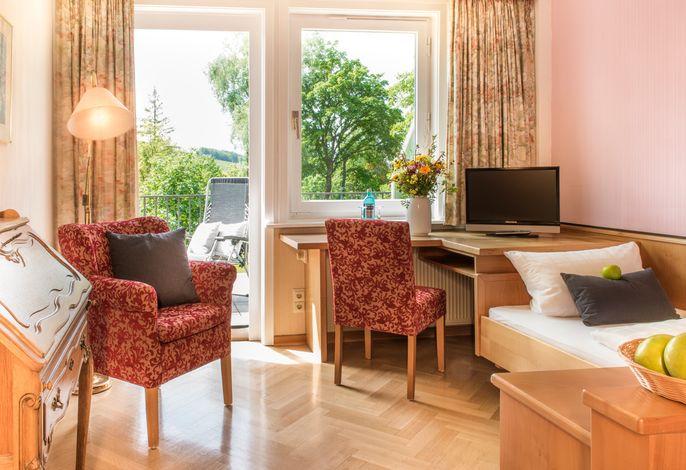 Wohnbeispiel - Einzelzimmer Waldblick