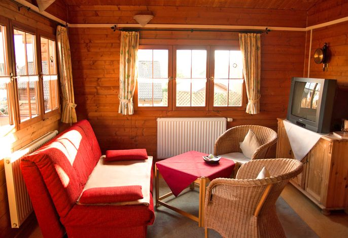 Wohnzimmer - Ferienhaus Pöttgen