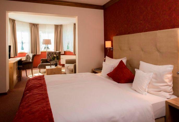 Komfort-Doppelzimmer mit Erker
