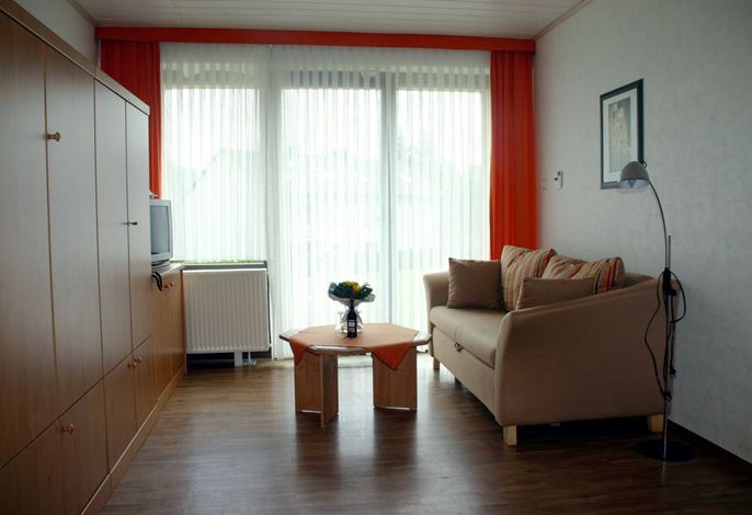 Wohn-/Schlafzimmer kleine Wohnung