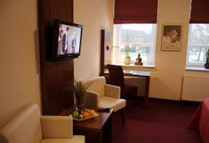 Sitzgelegenheit im Comfort Hotelzimmer