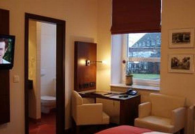 Sitzgelegenheit im Hotelzimmer