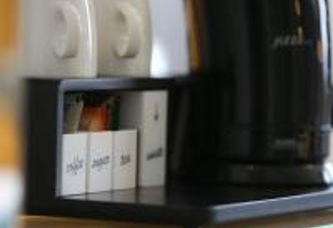 Teestation (nur in den Komfortzimmern vorhanden)