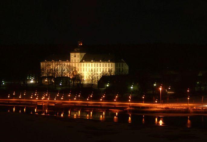 Schloss Gottorf bei Nacht