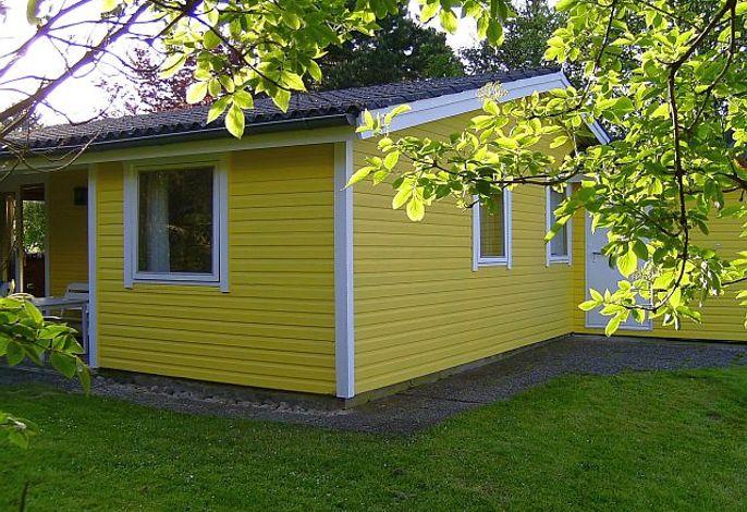 Hausecke im schickem Gelb