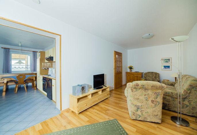 Strandlaeufer Küche / Wohnzimmer