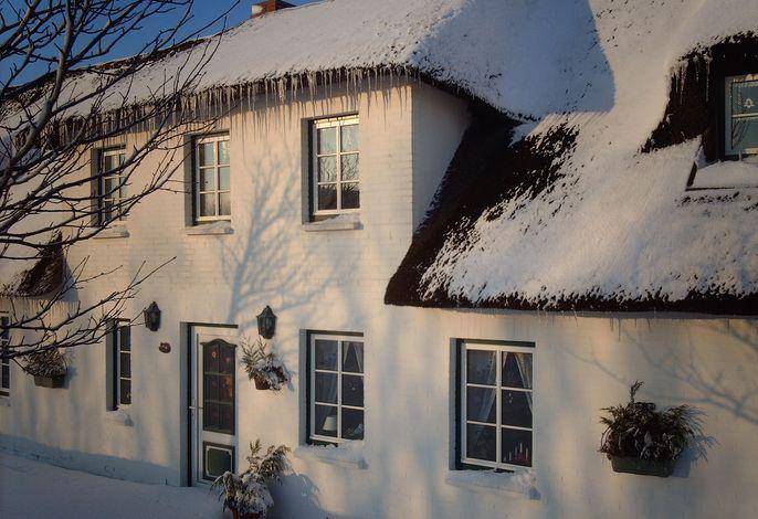 Dat Möhlenhus in der Wintersonne