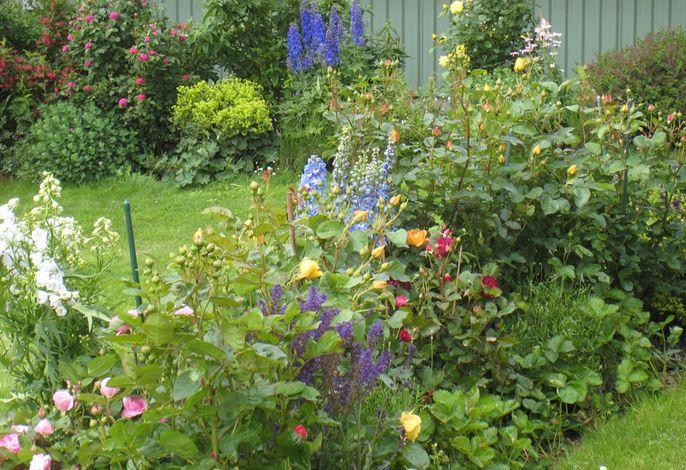 Garten bei Familie Clausen