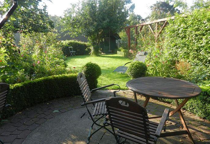 Garten des Ferienhauses