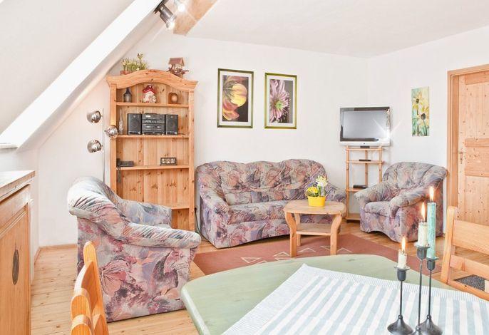 Adlerhorst - Wohnzimmer