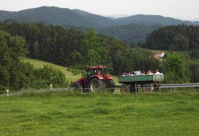 Traktor Abenteuerfahrt