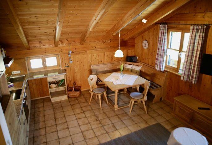 Ferienwohnung Heuboden - Wohnküche