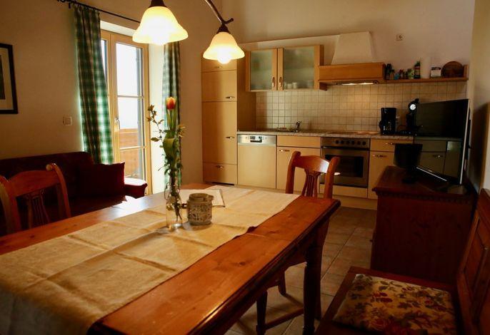 Ferienwohnung Hofseit'n - Wohnküche