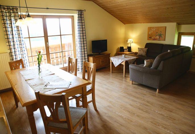 Ferienwohnung Landhaus - Wohnküche