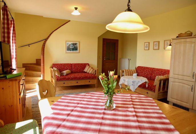 Ferienwohnung Bauernvilla - Wohnküche