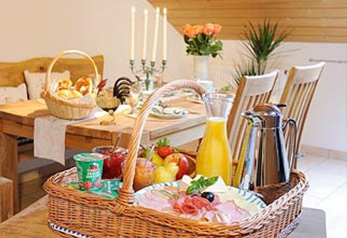Bauernhof - Frühstückskorb