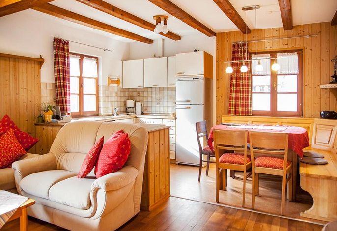 Ferienhaus Speicher - Wohnküche