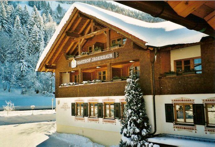 Das Jägerhaus im Winter