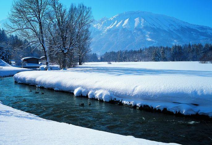 Winterzauber im Pfrontner Tal