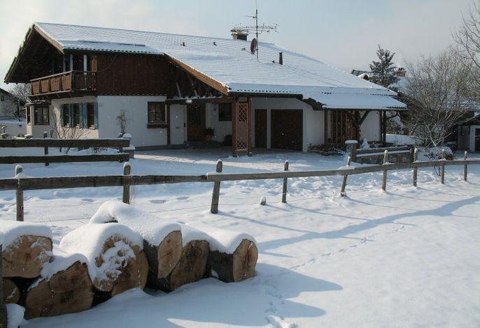 Haus Regina im Winter