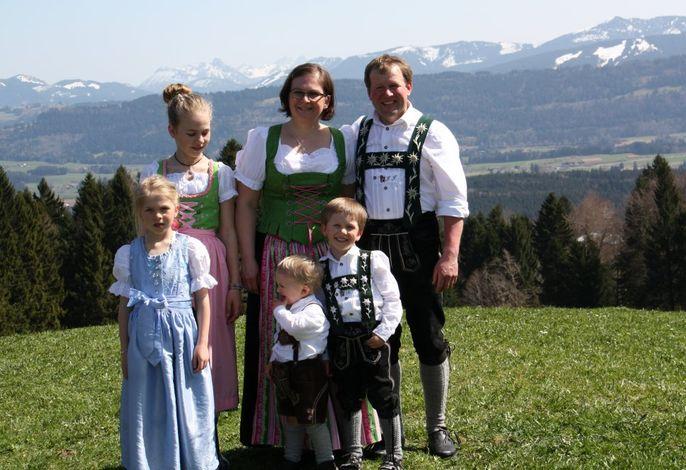 Ihre Gastgeberfamilie Jäck