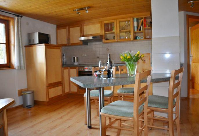 Wohnküche Fewo Waldesruh