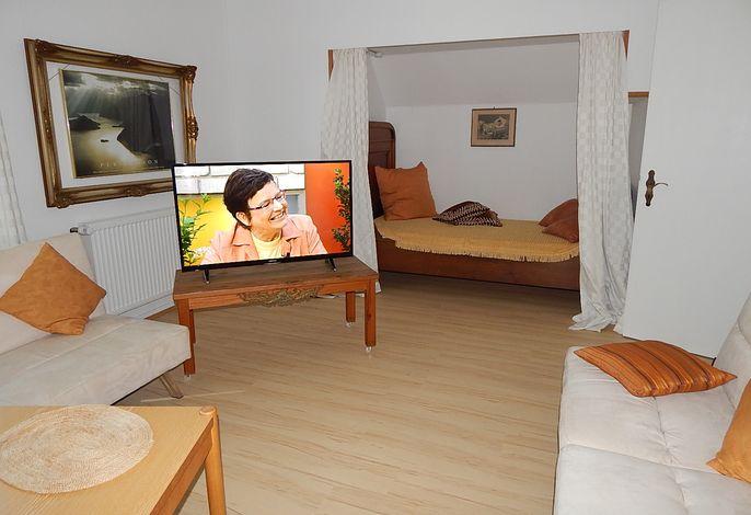 Wohnraum mit Alkovenbett
