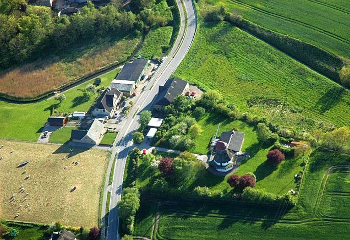 Luftaufnahme vom Anwesen