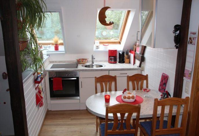 Schwalbennest: Super nette, kleine Küche bzw. Wohnküche